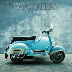 Kalendarz Skutery Scooters 2020 Calendar
