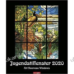 Kalendarz Jungendstilfenster 2020 Calendar Pozostałe