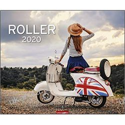 Kalendarz Skutery 2020 Roller Scooter Calendar