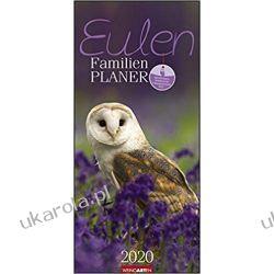 Kalendarz Rodzinny Family Planner Owls 2020 Historyczne