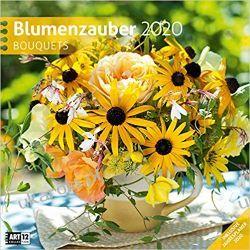 Kalendarz Kwiaty Bouquets 2020 Calendar Pozostałe