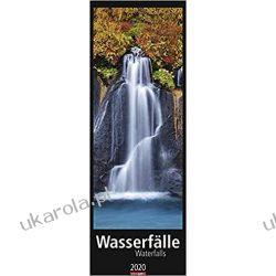 Kalendarz Wodospady Waterfalls 2020 Calendar Zagraniczne