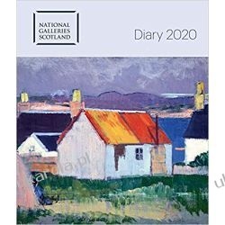 Kalendarz książkowy National Galleries of Scotland Desk Diary 2020