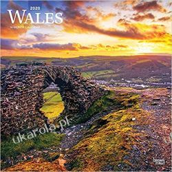 Kalendarz Walia Wales 2020 Square Wall Calendar