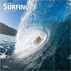 Kalendarz Surfing 2020 Square Wall Calendar