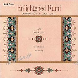 Kalendarz Enlightened Rumi 2020 Square Wall Calendar