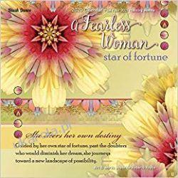 Kalendarz A Fearless Woman 2020 Square Wall Calendar
