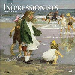 Kalendarz Malarstwo Impresjonizm Impressionists 2020 Square Wall Calendar