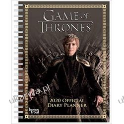 Kalendarz książkowy Gra o Tron Game of Thrones 2020 A5 Diary Planner Calendar