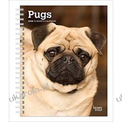 Kalendarz książkowy Mops Pugs Diary 2020 Calendar