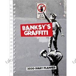 Kalendarz Banksy's Graffiti 2020 A5 Diary Planner