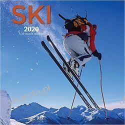 Kalendarz Ski 2020 Square Wall Calendar