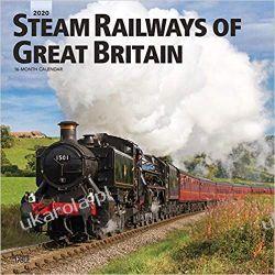 Kalendarz Steam Railways of Great Britain 2020 Square Wall Calendar Kalendarze ścienne