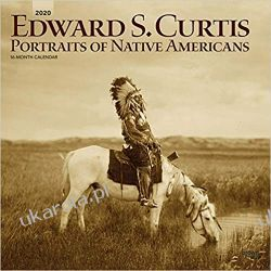 Kalendarz Curtis Portraits of Nativeamericans 2020 Square Wall Calendar