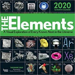 Kalendarz The Elements 2020 Square Wall Calendar Kalendarze ścienne