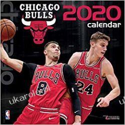 Kalendarz Chicago Bulls 2020 Calendar