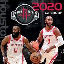 Kalendarz Houston Rockets 2020 Calendar