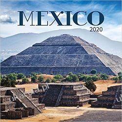 Kalendarz Meksyk Mexico 2020 Calendar