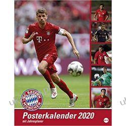 Kalendarz FC Bayern München 2020 Monachium Calendar Kalendarze ścienne