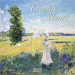 Kalendarz Claude Monet 2020 Art Calendar