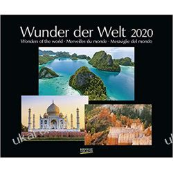 Kalendarz Cuda świata 2020 Wonders of the World Calendar
