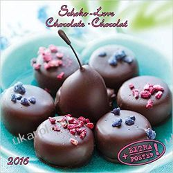 Kalendarz Czekolada Schokolove - Chocolate - Chocolat 2020 Artwork Calendar