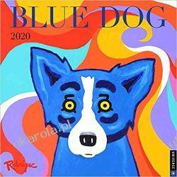 Kalendarz Blue Dog 2020 Square Wall Calendar Marynarka Wojenna
