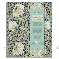 Kalendarz książkowy William Morris - Pimpernel Greeting Cards Organiser