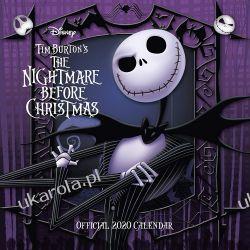 Kalendarz Nightmare Before Christmas 2020 Calendar Pozostałe