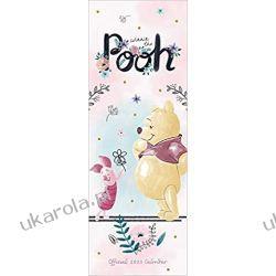 Kalendarz Kubuś Puchatek Disney Winnie The Pooh Sketch Slim 2020 Calendar Książki i Komiksy