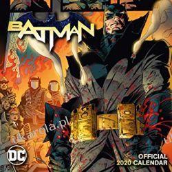 Kalendarz Batman Comics 2020 Calendar Książki i Komiksy
