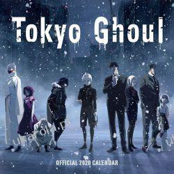 Kalendarz Tokyo Ghoul 2020 Calendar Manga Książki i Komiksy