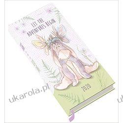 Kalendarz książkowy Notes Osiołek Eeyore Official 2020 Diary Puchatek i Przyjaciele