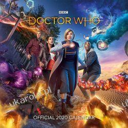 Kalendarz Doctor Who 2020 Calendar Książki i Komiksy