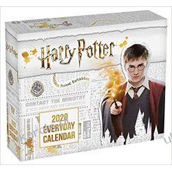 Kalendarz biurkowy Harry Potter Desk Block 2020 Calendar Książki i Komiksy