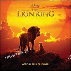 Kalendarz Król Lew The Lion King 2020 Square Calendar  Książki i Komiksy