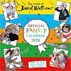 Kalendarz World Of Walliams 2020 Family Organiser Calendar