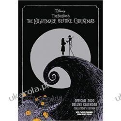 Kalendarz Nightmare Before Christmas Deluxe 2020 Calendar Zdrowie dzieci