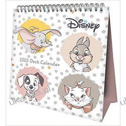 Kalendarz Biurkowy Disney Heritage Desk Easel Official 2020 Calendar Month to View Desk Calendar