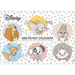 Kalendarz Disney Heritage 2020 Family Organiser Official A4 Wall Calendar