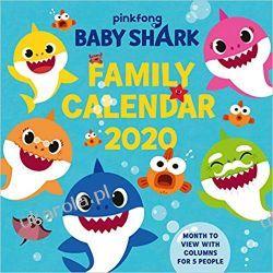 Kalendarz Baby Shark 2020 Family Organiser Calendar