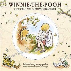 Kalendarz Kubuś Puchatek i Przyjaciele Winnie The Pooh 2020 Family Organiser Calendar