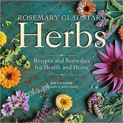 Kalendarz Zioła Kuchnia Rosemary Gladstar's Herbs Wall Calendar 2020 Pozostałe