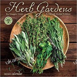 Kalendarz Zioła Herb Gardens 2020 Wall Calendar: Recipes & Herbal Folklore Historia