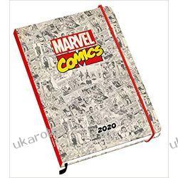 Kalendarz książkowy Marvel Comics Official 2020 A5 Diary Calendar