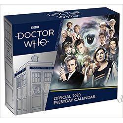 Kalendarz Doctor Who Desk Block 2020 Calendar
