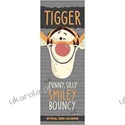 Kalendarz Tygrysek Tigger Slim 2020 Calendar Kubuś i Przyjaciele