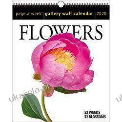 Kalendarz Kwiaty 2020 Flowers Page-A-Week Gallery Wall Calendar Muzyka, muzycy - albumy