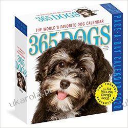 Kalendarz Psy 365 Dogs Colour Page-A-Day Calendar 2020 Kalendarze ścienne