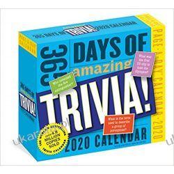 Kalendarz 365 Days of Amazing Trivia! Page-A-Day Calendar 2020